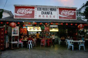 Nama kedai makan yang menarik unik