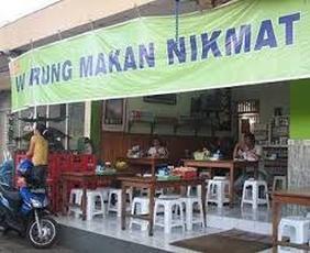 Nama warung makan unik menarik